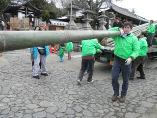 竹の奉納 by Michel.jpg